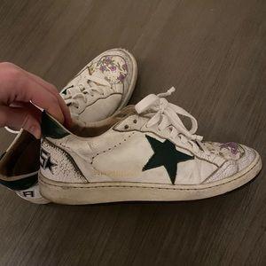 Authentic Golden Goose ballstar sneakers size 8